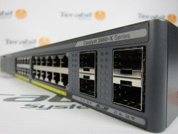Cisco Systems Access Switches C2960x Stack Terabit Systems