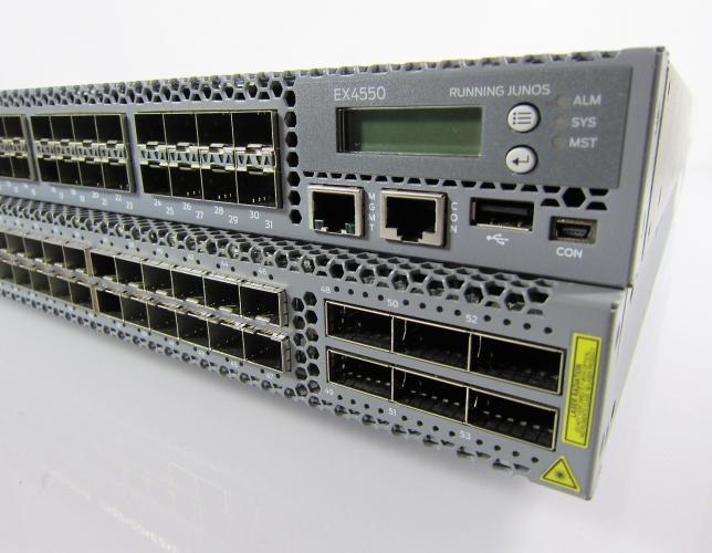 Comparing Juniper EX4550 & QFX5100
