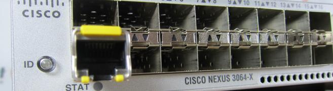 Cisco N3K-C3064-PQ-10GX Terabit Systems