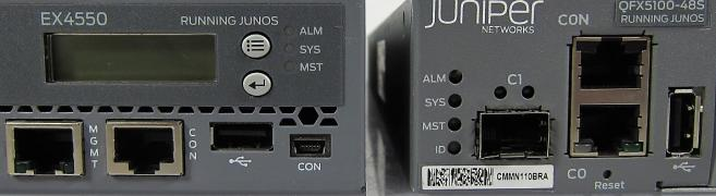 Juniper EX4550 & QFX5100 Compared