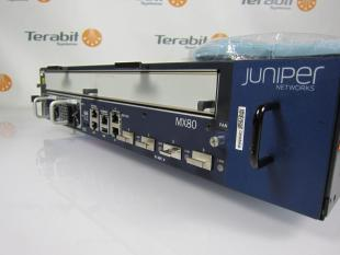 Juniper MX80 angle Terabit Systems